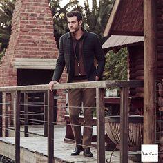 Erkek modası doğanın tonlarıyla birleşiyor. Pierre Cardin #Espark zemin katta.