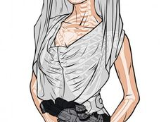 Cosplay star LeeAnna Vamp as Princess Leia Ultimate Xray