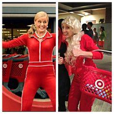 Halloween costume idea! Crazy Christmas lady from target!  sc 1 st  Pinterest & Great Muppets Honeydew Bunsen and Beaker Couple Costume   Pinterest ...