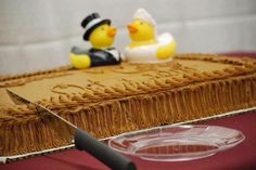 Rubber Ducky Groom's Cake