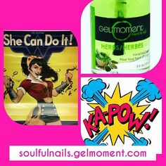 Ever wish you had a super power? Or a super cool secret weapon?   GelMoment Herb Serum is my TOP SECRET WEAPON keeping my nails & cuticles WONDER WOMAN strong. Kapow!Now I am ready to have a kick a$$ day with my pretty nails protected from sand sleet snow - and all manner of evil villains out in the Universe.      What's YOUR secret weapon?    #gelmomentaddict #insta #good #pretty #beautiful #cute #art #animecosplay #makeup #hair #dccomics #red #costume #cosplaygirl #love #girl #wonderwoman…