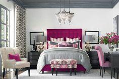 HGTV Home Custom Upholstered Duncan High Rectangular Bed by Bassett Furniture contemporary teenage bedroom design Dream Bedroom, Home Bedroom, Bedroom Furniture, Bedroom Decor, Bedroom Ideas, Master Bedroom, Fine Furniture, Bedroom Night, Pretty Bedroom