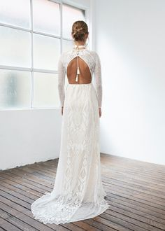 Aussie bridal designer Grace Loves Lace opened their LA showroom on Abbot Kinney and is here to stay! Sophisticated Wedding Dresses, Most Beautiful Wedding Dresses, Perfect Wedding Dress, Bridal Dresses, Flower Girl Dresses, Bridesmaid Dresses, Wedding Gowns, Wedding Dress Accessories, Grace Loves Lace