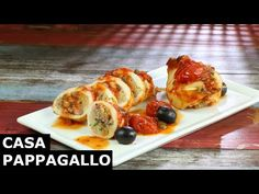 Calamari ripieni al forno S1 - P41 Calamari, Celebrity Travel, Funny Tattoos, Italian Recipes, Italian Foods, Seafood, French Toast, Breakfast, Youtube