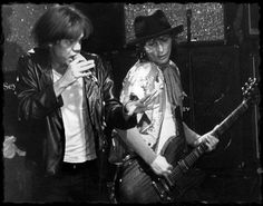 ohnny Thunders & David Johansen 1985