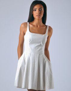 Catherine Dress - Off White Off White, Diana, Elegant, Chic, Beautiful, Dresses, Design, Fashion, Classy