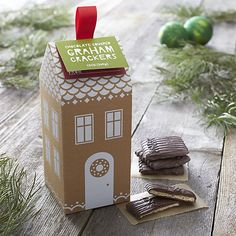 Milk Chocolate Grahams I Crate and Barrel #setthetable