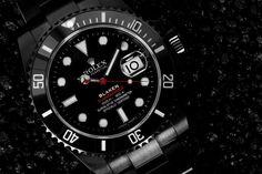 Blaken custom Rolex Submariner with single red date