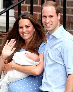 Princess Kate, Prince William, Son...Love this picture..Cloud Nine Lullaby..