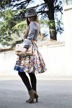 The Trendy 30: Below-the-knee skirts - yoodot | yoodot