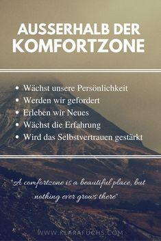 Darum verlasse ich gerne meine Komfortzone – Klara Fuchs Personal development and motivation. Strengthen self-confidence. Sport Motivation, Fitness Motivation, Teamwork Quotes, Leadership Quotes, Education Quotes, Coaching Quotes, Leader Quotes, Fitness Inspiration, Motivation Inspiration