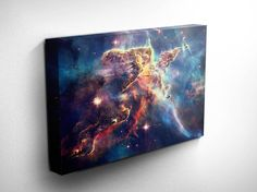 Hubble Nebula Outer Space Print  Astronomy by DareToDreamPrints