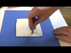 How to Use Fondant Crimpers