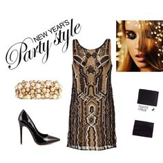 """New Year's Party Style"" by scarvesdotnet on Polyvore"