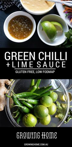 A great way to add spice and flavour to dishes, this Green Chilli and Lime Sauce goes great with BBQ meat, seafood, and adds a kick to classic mayonnaise. Citrus Recipes, Orange Recipes, Spicy Recipes, Real Food Recipes, Bbq Meat, Green Chilli, Fodmap Recipes, Low Fodmap, Mayonnaise