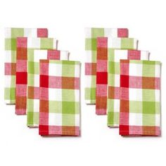 The Pioneer Woman Charming Check Napkin 8-Piece Set - Walmart.com