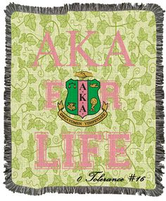Alpha Kappa Alpha Sorority Personalized Gifts & Paraphernalia ...