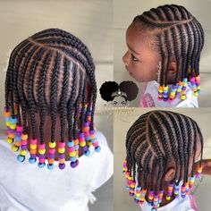 Booking Link In Bio! # Braids for girls link Little Girl Braid Hairstyles, Toddler Braided Hairstyles, Toddler Braids, Black Kids Hairstyles, Baby Girl Hairstyles, Natural Hairstyles For Kids, My Hairstyle, Little Girl Braid Styles, Kid Braid Styles