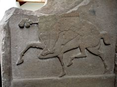 Pictish Horse on a stone from Meigle