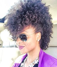 Photo Credit: pinterest.com Beautiful curls! I LOVE this frohawk style