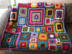 Babette Crochet Blanket from Red Crochet