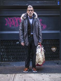 Man in Pink | Nick Wooster