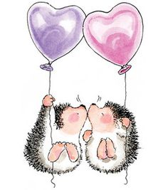 Penny Black Rubber Stamp - Hedgehog Kisses : stamps : stamping : scrapbooking :  Shop | Joann.com