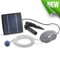 Perfect Pond ® Solar Oxygenator from Powerbee Oxygenates Water, Brushless Solar Air Pump, Small to Medium Ponds, Fantastic for Fish Buy Now Free UK Delivery Water Fountain Pumps, Rock Fountain, Solar Pond, Solar Water, Pond Aerator, Pond Life, Water Features In The Garden, 5 W, Diy Solar