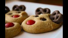 Rudolph Reindeer Cookies #christmas