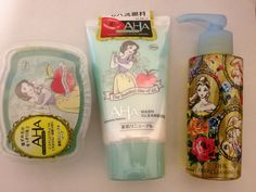 Japanese skin care items featuring disney... - Disney Japan