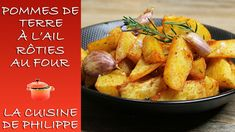 Pommes de terre à l'ail rôties au four - YouTube Creamy Chicken Spinach Pasta, Gluten Free Recipes, Sweet Potato, Side Dishes, French Toast, Vegetables, Cooking, Breakfast, Food