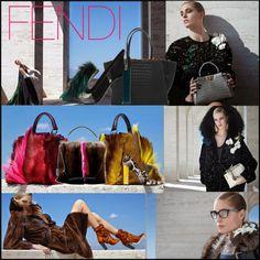 """FENDI F/W '14/15 Ad-Campaign"" by andreajanke on Polyvore #Fendi #KarlLagerfeld #Fashion"
