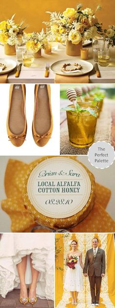 The Perfect Palette: {Wedding Colors I Love}: Mustard!