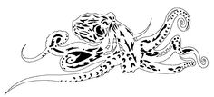 Octopus DXF file for you CNC mill, router, laser, plasma, waterjet by ArcInnovations on Etsy