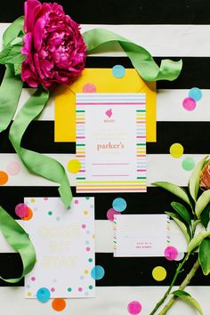 Party Idea: Kate Spade Puppy Party from Milou and Olin  Read more - http://www.stylemepretty.com/living/2013/08/27/party-idea-kate-spade-puppy-party-from-milou-and-olin/