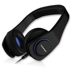 Blaupunkt BPA-505 Style Series On-Ear Headphones With MIC Black