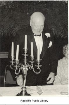 Radcliffe Public Library Archibald Sparke at the Public Library Golden Jubilee Dinner