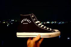 世界に一足のオリジナルシューズ作らせて頂きます 詳細はお問い合わせ下さい #converse #allstar #chucktaylor #cons #custom #custompaint #custompainted #customshoes #paint #iwakuni #iwakunicity