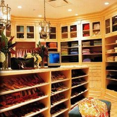 My shoe room
