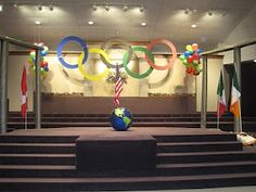 olympic party decorations..