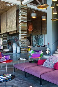 Meet me in the funky 'living room' for a round of pool or a board game! W Retreat & Spa - Vieques Island (Vieques, Puerto Rico) - Jetsetter