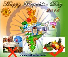 #Happy #Republic #day2015 for http://www.dietkundali.com