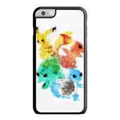 Pikachu Painting Pokemon iPhone 6 Plus Case