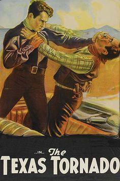 'The Texas Tornado' Film vintage print