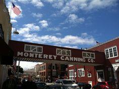 Monterey California - Cannery Row.  I used to walk down here every weekend.  ~Klasko