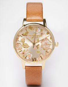 Olivia Burton – Parlour – Uhr in Camel