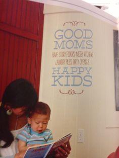 Good Moms have... #kids #vinyl #uppercaseliving