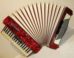 Original German Piano ACCORDION WELTMEISTER Stella by Harmony4Life, $449.00
