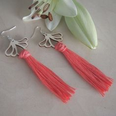 AURORA earrings are ostentatious, but extremely light statement earrings. A pair of earrings only weighs about 5 grams. Statement Earrings, Tassel Necklace, Plywood, Finland, Earrings Handmade, Birch, Aurora, Jewelry Collection, Silver Plate