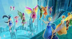 Elina and the Fairy Apprentices at the Crystal Palace